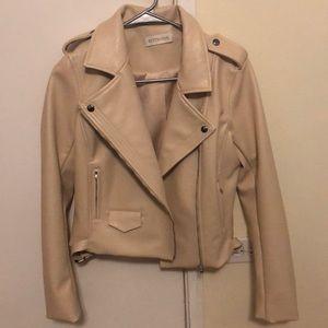 """JESSIE JAMES DECKER """"kittenish leather jacket"""""""